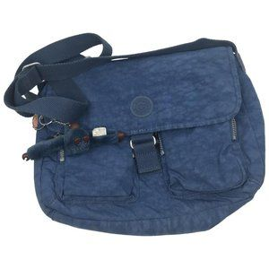 Kipling Blue Nylon Medium Crossbody Bag